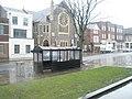 Bus shelter opposite The Worthing Tabernacle - geograph.org.uk - 1715452.jpg