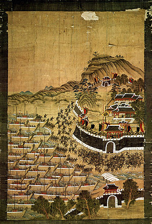 Japanese invasions of Korea (1592–98) - Image: Busanjinsunjeoldo