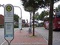 Bushaltestelle am Bahnhof von Niebüll - panoramio.jpg