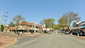 Margaret River, Western Australia - Town centre