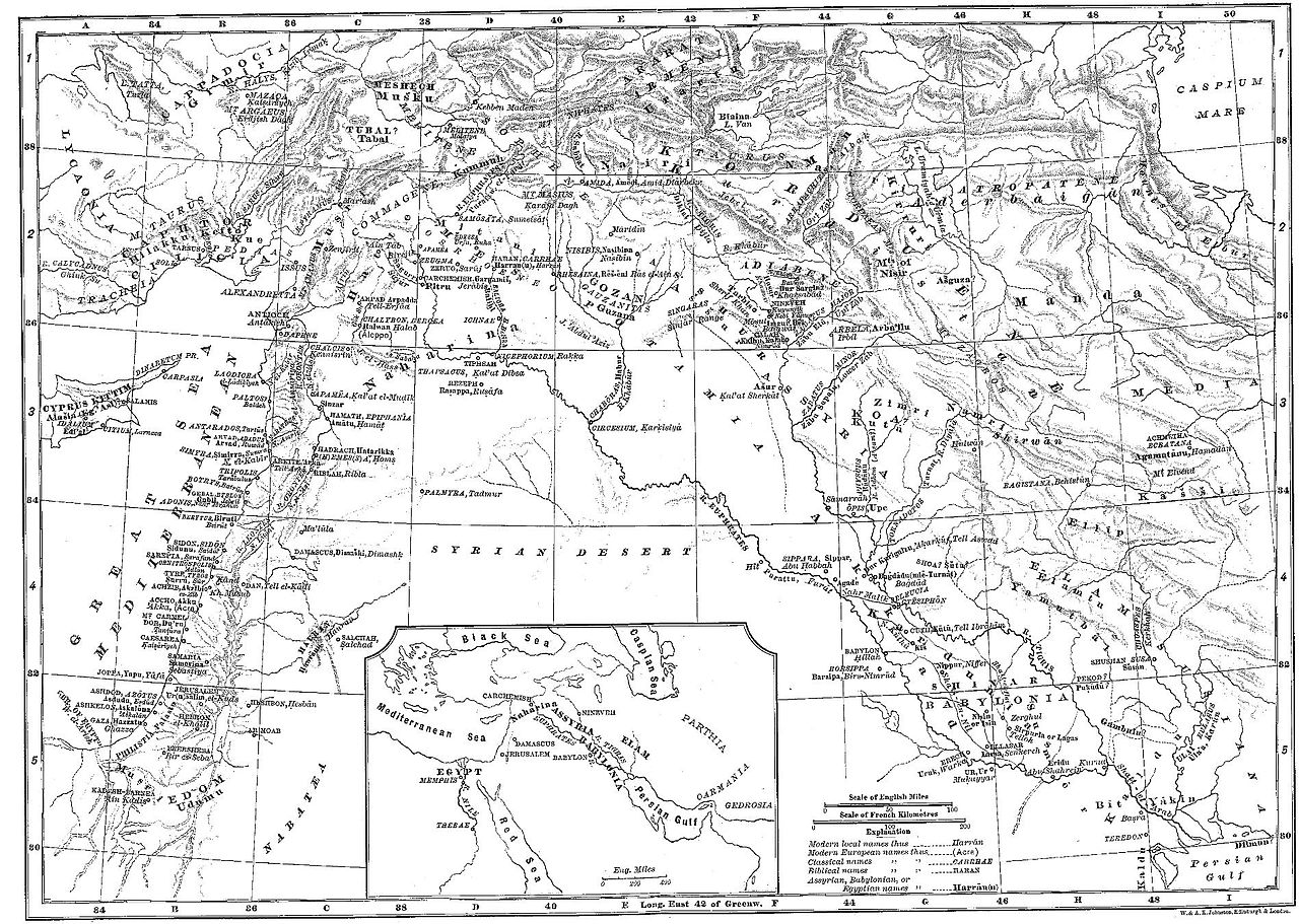 نقشه از عملیات نظامی مارکوس لیسینیوس کراسوس.