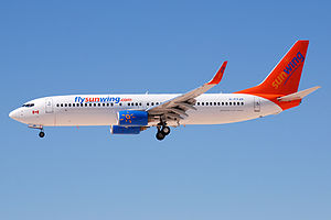 Sunwing Airlines - Sunwing Airlines Boeing 737-800