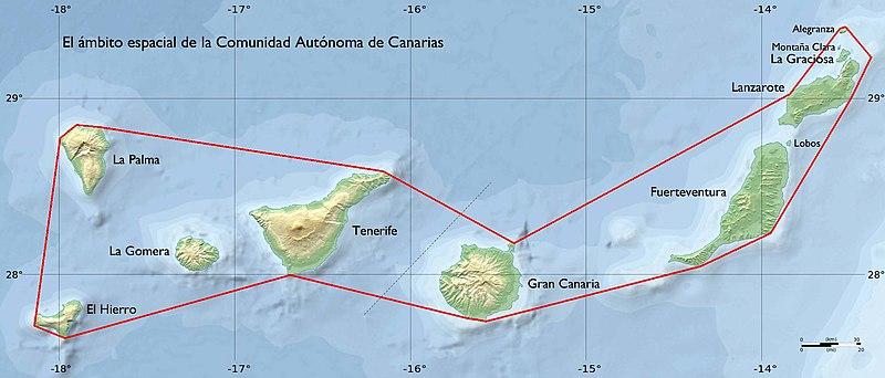 Mapa Politico De Canarias.Canarias Wikipedia La Enciclopedia Libre