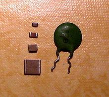 Condensador El 233 Ctrico Wikipedia La Enciclopedia Libre