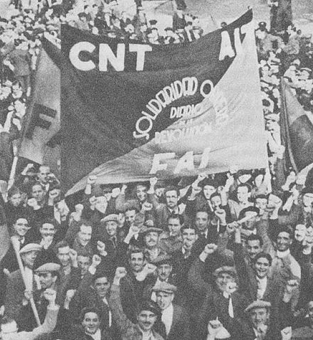 Anarchists during the Spanish Revolution of 1936 CNT-AIT-FAI.jpg