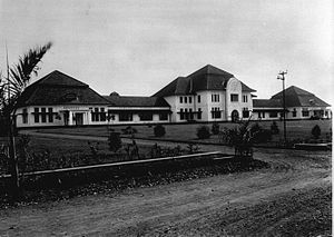 Pasteur Institute - Institut Pasteur in Bandung, Dutch East Indies