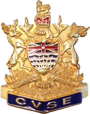 British Columbia Commercial Vehicle Safety and Enforcement - Image: CVSE Badge Cap
