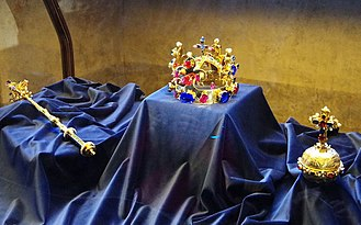 Prague - The Bohemian Crown Jewels are the fourth oldest in Europe