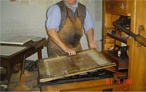 William Parks (publisher) - Printing work replicated