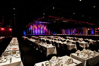 Hamburger Börs - Room for 650 guest to dine before shows