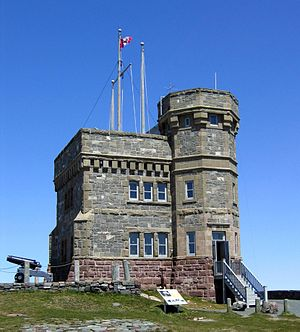 Cabot Tower (St. John's) - View from south