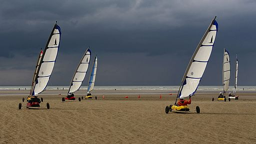 Cabourg - Char à Voile