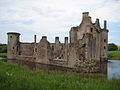 Caerlaverock Castle from the South East.JPG