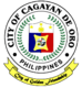 Official seal of Cagayan de Oro