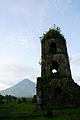 Cagsawa Bell Tower and Mayon.jpg