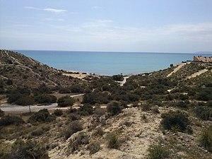 Cala cantalar en el Cabo de las Huertas.jpg
