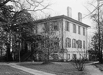Camak House - Camak House in 1934