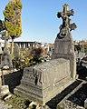 Cambrai - Cimetière de la Porte Notre-Dame, sépulture remarquable n° 48, famille Copin-Larguilliez, tombe remarquable (01).JPG