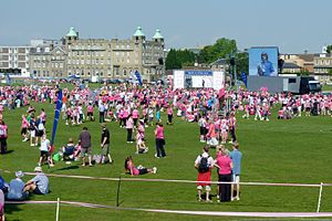 Race for Life - Race For Life 2011 at Parker's Piece, Cambridge.