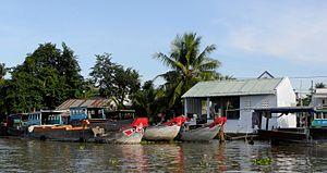 Can Tho City - Schwimmender Markt auf dem Mekong 03.jpg
