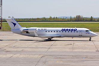 IrAero - IrAero's CRJ-200 VQ-BIY (cn 7546)