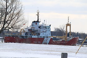 Canadian Coasties at Belle Isle Detroit