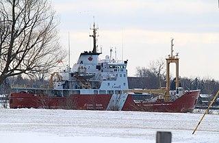 CCGS <i>Griffon</i> Canadian Coast Guard High Endurance Multi-Tasked Vessel and Light Icebreaker