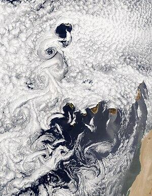 Eddy (fluid dynamics) - Image: Canary A2002186 1155 250m