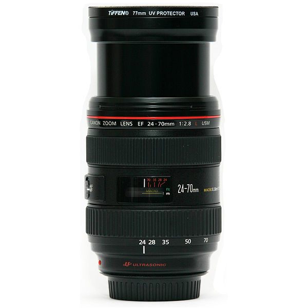 File:Canon 24-70 mm F2.8 lens side at 24 mm.jpg