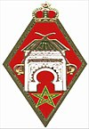 Cap Badge of the Meknes Royal Military Academy.jpg