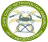 Official seal of Cape Coast Metropolitan Assembly