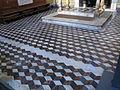 Cappella di filippo strozzi, pavimento.JPG