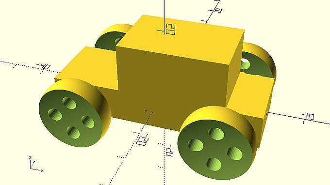 Car with wheels created by module.jpg