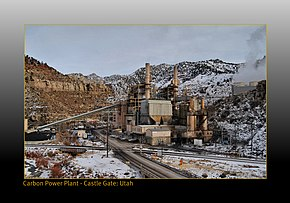 Carbon power plant at Castle Gate Utah - panoramio.jpg