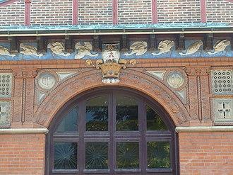 Carlsberg Museum - Image: Carlsberg Museum facade detail 1