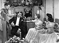 Carmen Miranda, Xavier Cugat, Jane Powell and Elizabeth Taylor in A Date with Judy (1948).jpg