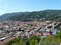 Carrara-panorama dalla strada per Colonnata1.jpg