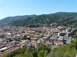Carrara-panorama dalla strada per Colonnata1.jpg