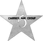 Carrier Air Group 5 (U.S. Navy) insignia, 1953.png