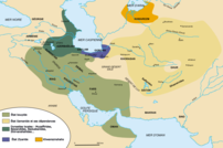 Map of Iranian Dynasties around 1000AD