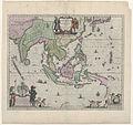 Cartografie in 17de eeuw, kaart van Indonesië en een deel van Zuid-Oost-Azië, Willem Janszoon Blaeu, 1635 - Rijksmuseum.jpg