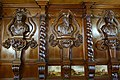 Carved busts and panelling from a German monastery, acquired 1837, with paintings by John Wilsom Carmichael - Oak Room, Chatsworth House - Derbyshire, England - DSC03035.jpg
