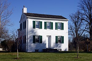 Phoebe Cary - Cary Cottage, childhood home of Alice and Phoebe Cary near Cincinnati, Ohio