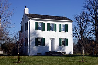 Alice Cary - Cary Cottage, childhood home of Alice and Phoebe Cary near Cincinnati, Ohio