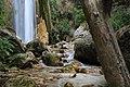 Cascata naturale di 30 metri-Senerchia Oasi naturale Valle della Caccia -Avellino 34.jpg