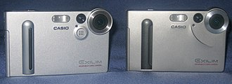 Casio Exilim - EX-M2 and EX-S2.