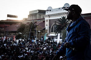 Cassper Nyovest - Cassper Nyovest at the 2014 Back to the City festival
