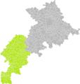 Castagnède (Haute-Garonne) dans son Arrondissement.png