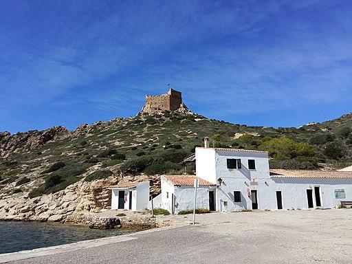 Castell i port de cabrera