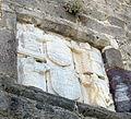 Castello di bodrum, portale, stemma giovan battista orsini tra santi 01.JPG